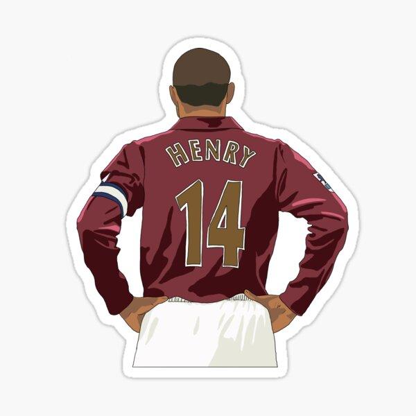 Arsenal Legend Thierry Henry Sticker