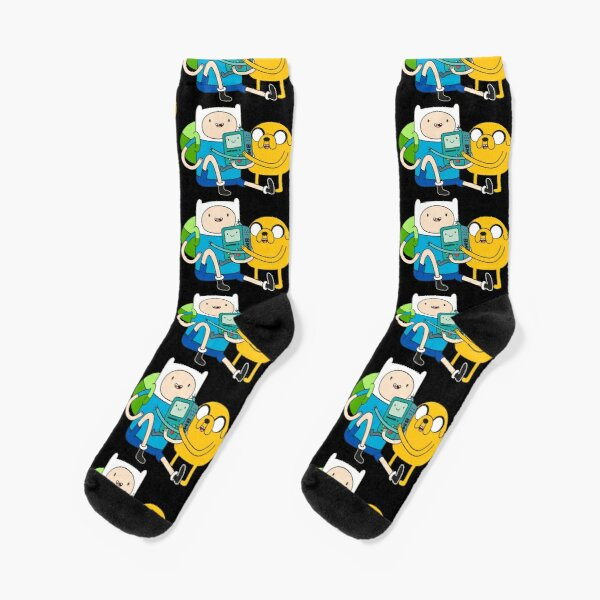 Finn Jake BMO Socks