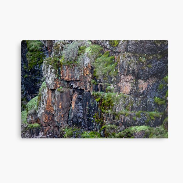 Iron Cliff Metal Print