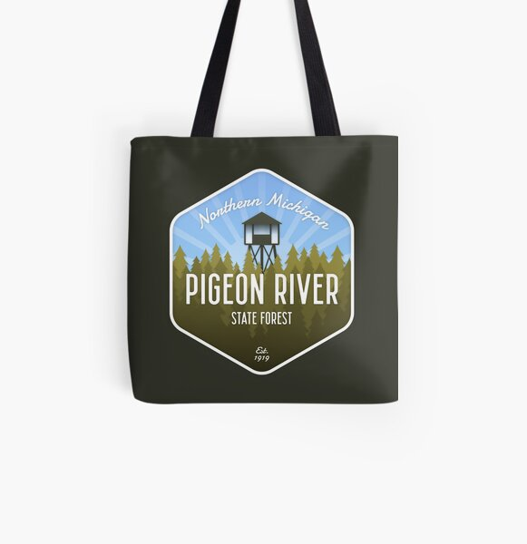 Pigeon River State Forest All Over Print Tote Bag