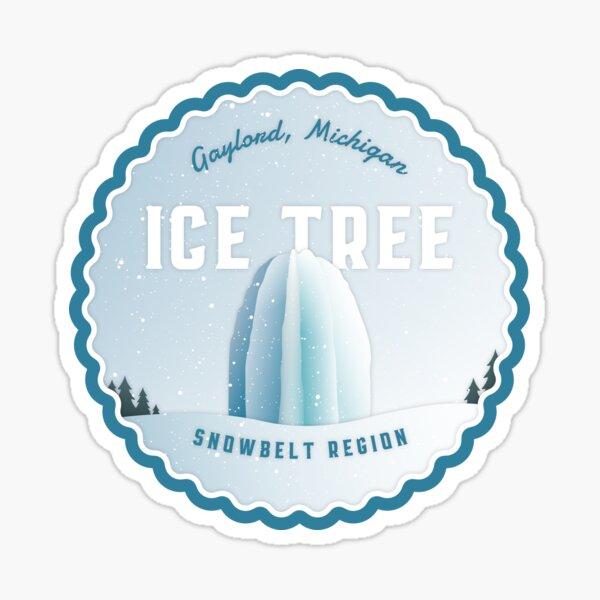 Gaylord Ice Tree Sticker