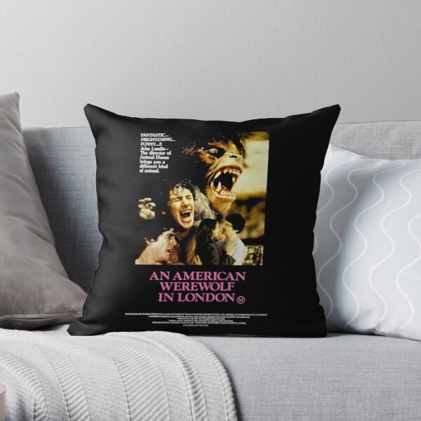 An American Werewolf In London Pillows Cushions Redbubble