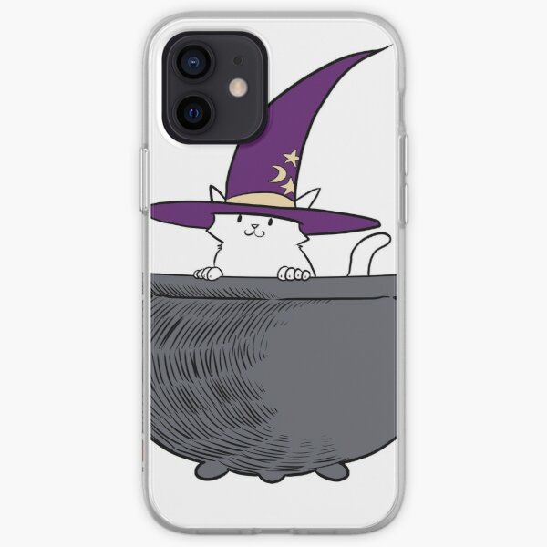 Bewitched Kitty Brew iPhone Soft Case