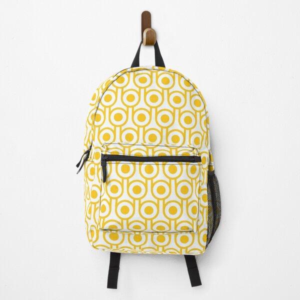 Scandi Midcentury Modern Retro Geometric Eggs Pattern Backpack