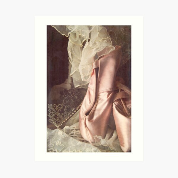 Ballet Slippers Art Print
