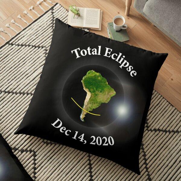 Total Solar Eclipse - Dec 14th 2020 Floor Pillow