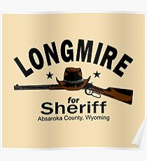 Longmire for Sheriff Poster