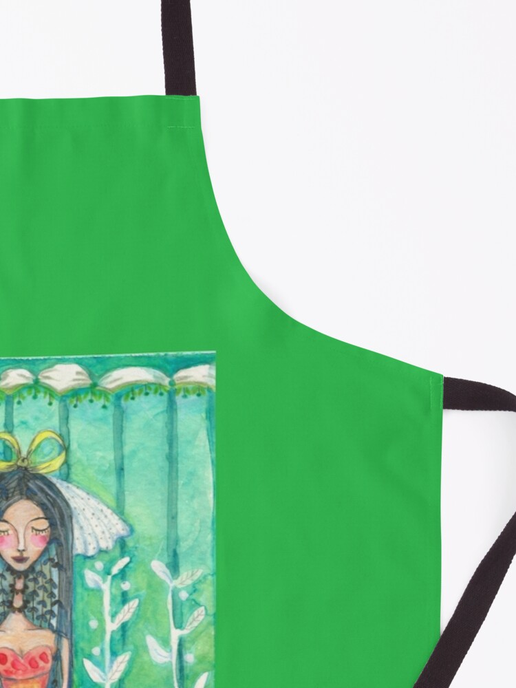 Alternate view of She Married Herself Apron