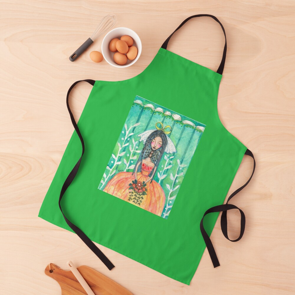 She Married Herself Apron