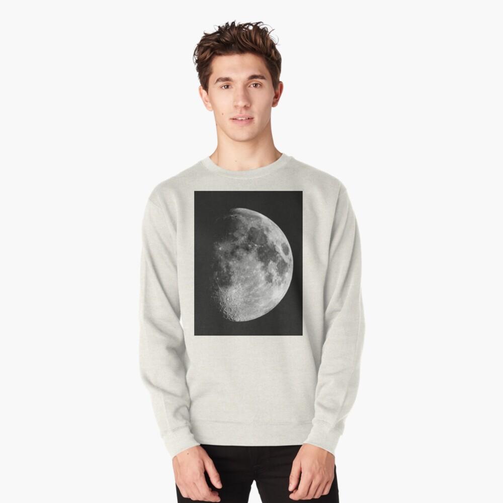 Gibbous Moon Pullover Sweatshirt