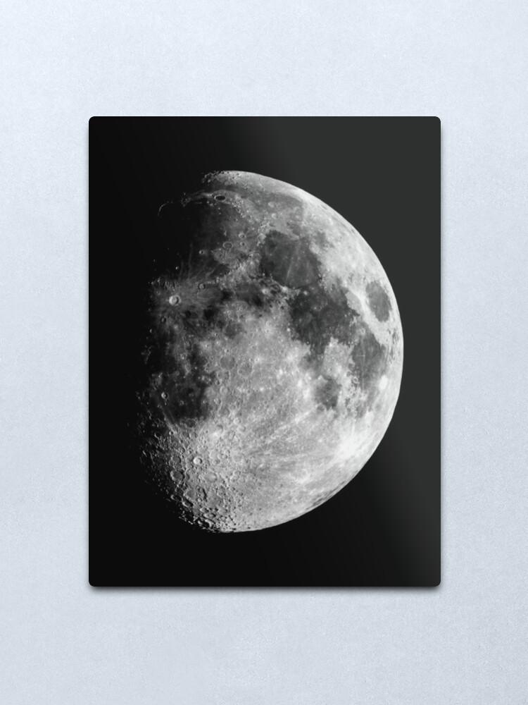 Alternate view of Gibbous Moon Metal Print