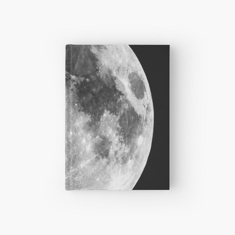 Gibbous Moon Hardcover Journal