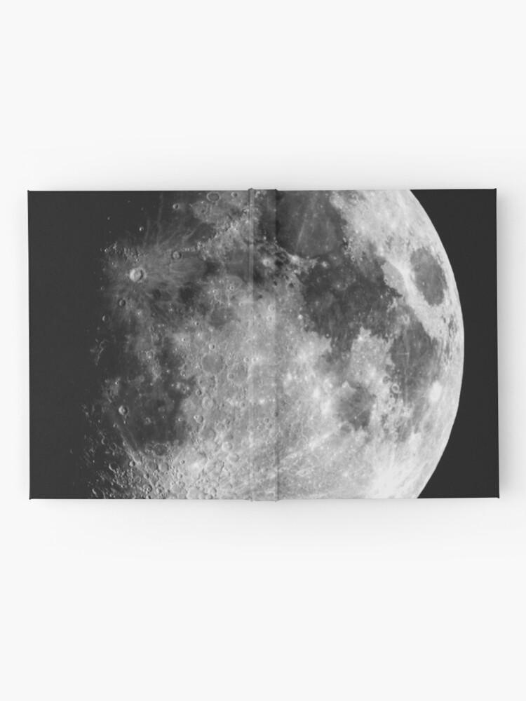 Alternate view of Gibbous Moon Hardcover Journal