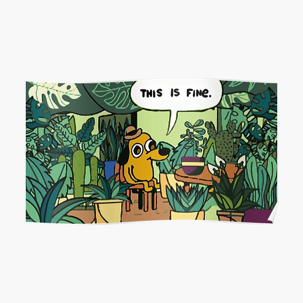 This is fine plant edition Poster