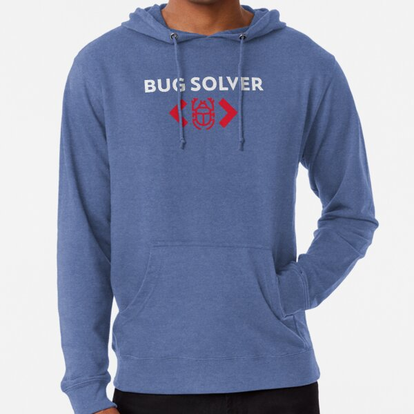 Bug solver tee for software testers Lightweight Hoodie
