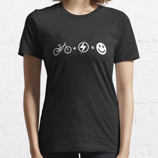 Bike + Electric = Happy eBike Essential T-Shirt