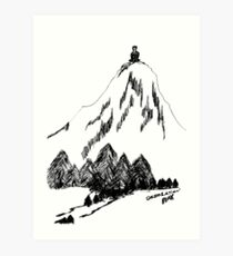 Desolation Peak_Alone Time Art Print