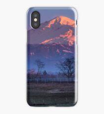 Pastoral Mount Baker Sunset iPhone Case