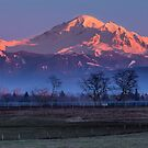 Pastoral Mount Baker Sunset by Jim Stiles
