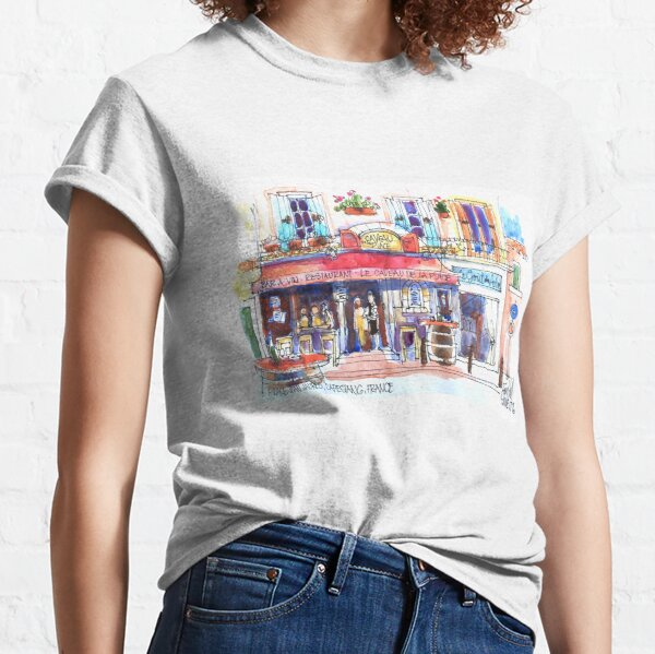 Capestang Village, South of France Classic T-Shirt