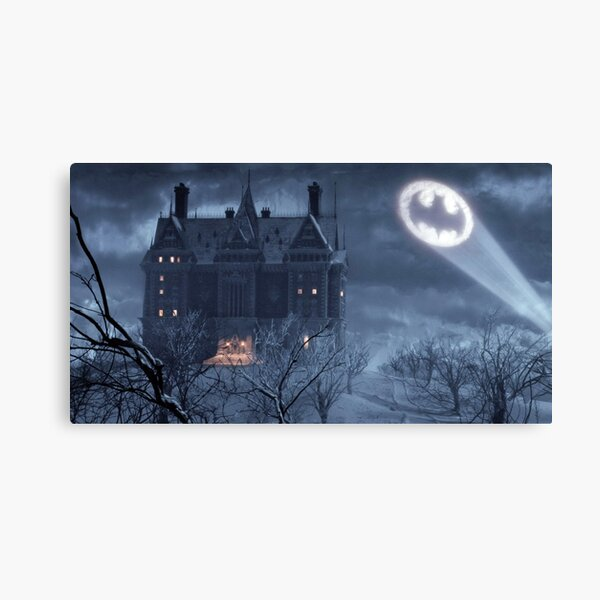 Wayne Manor from Batman Returns Canvas Print