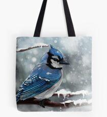 Blauer Jay Tote Bag