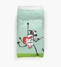 Who the moo are you?! Duvet Cover