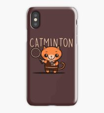 Catminton iPhone Case