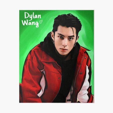 Retrato de Dylan Wang Lámina rígida