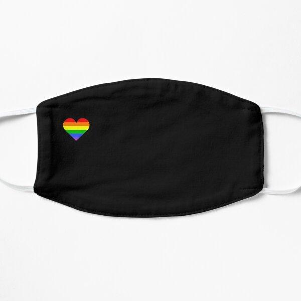 Little Rainbow Heart Mask
