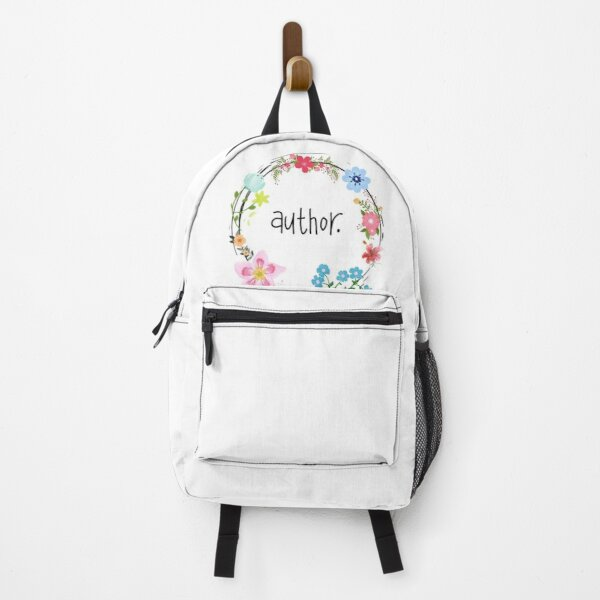 Author. Backpack