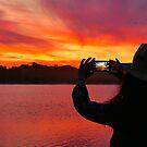 Marlo Sunset East Gippsland Vic. Australia  by helmutk