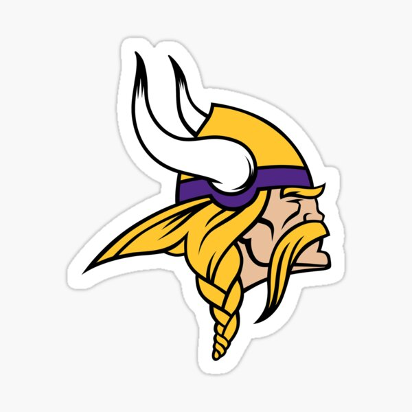 Vikings, Minnesota Sticker