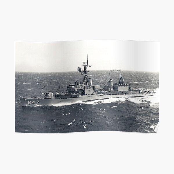 USS ROBERT L. WILSON (DD-847) SHIP'S STORE Poster