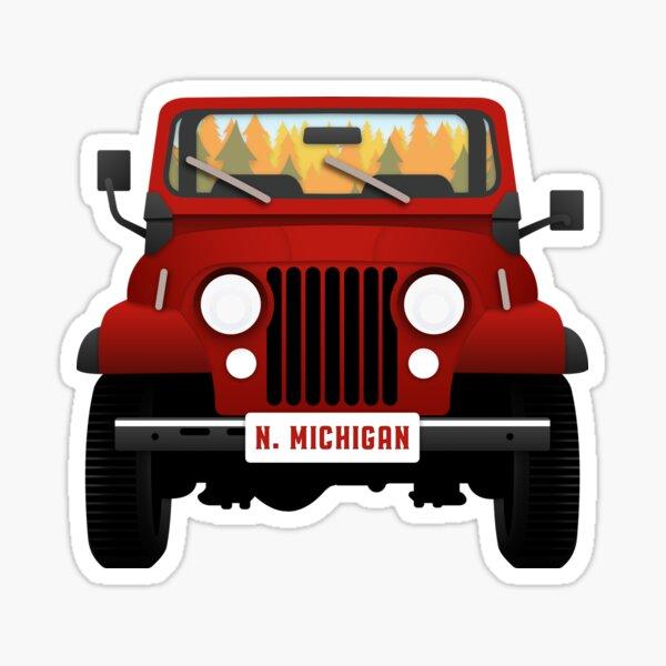 Jeep CJ-7 Sticker