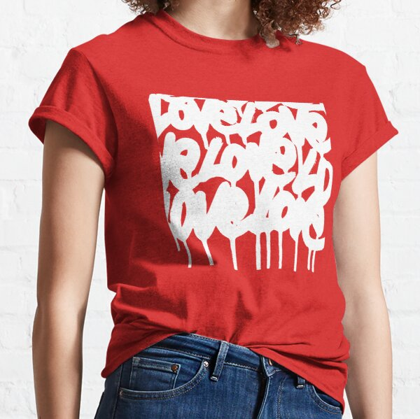 DRIPS WITHE LOVE T-shirt classique