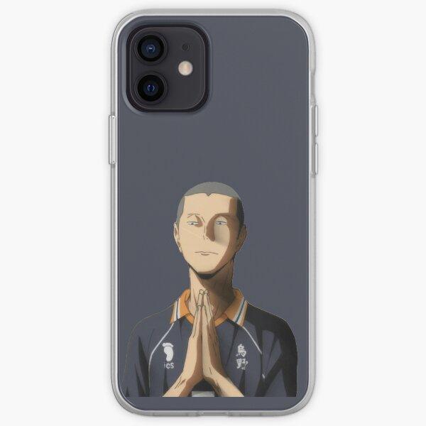 haykyuu tanaka ryuunosuke buddah face  iPhone Soft Case