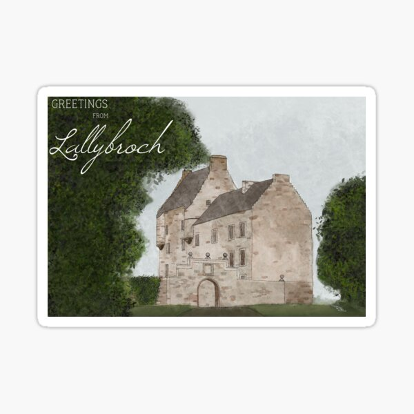 Lallybroch  Sticker