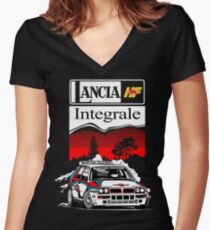Integrale..!! Women's Fitted V-Neck T-Shirt