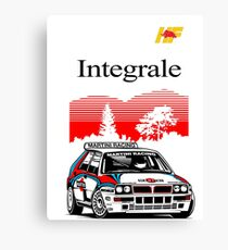 Integrale..!! Canvas Print