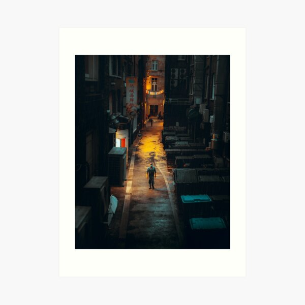 China Town London - Behind the scenes  Art Print
