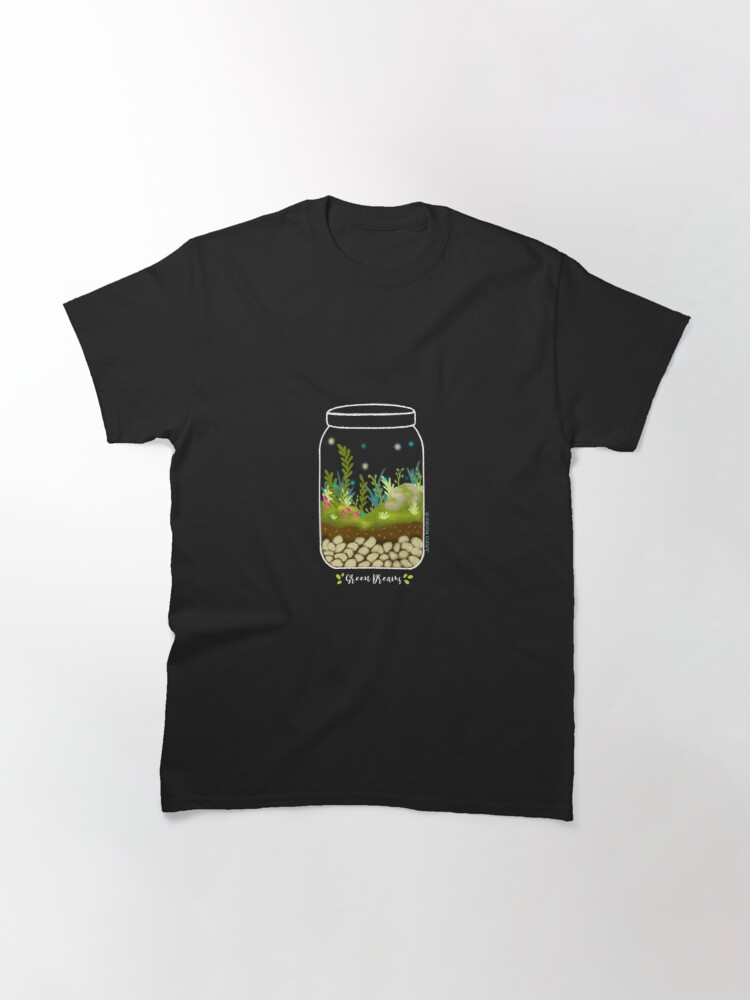 Alternate view of Green Dreams Classic T-Shirt