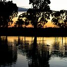 Sunset - Wimmera River by Joshua Westendorf