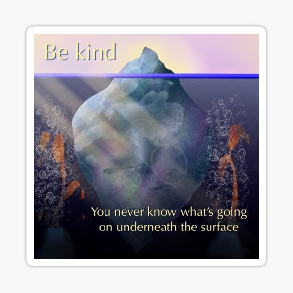 Be Kind..... Sticker