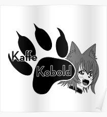 Kaffe Kobold Logo Poster
