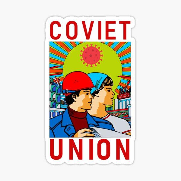 Coviet Union Poster v1 Sticker
