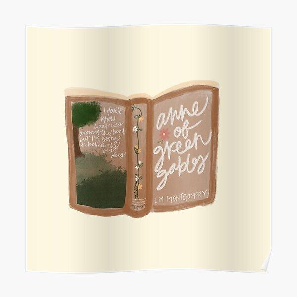 Libro de Ana de las Tejas Verdes Póster