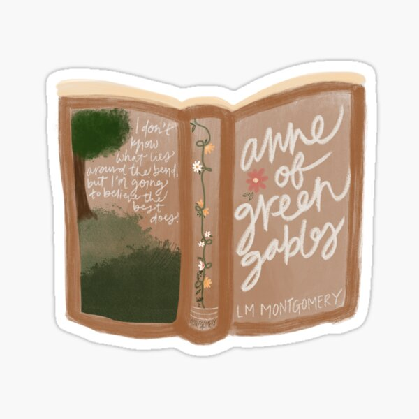 Anne of Green Gables Book Sticker