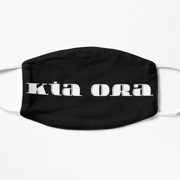 Kia Ora ~ Welcome in Maori  Flat Mask