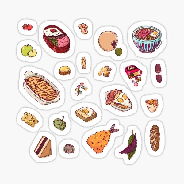 Studio Ghibli Food Sticker